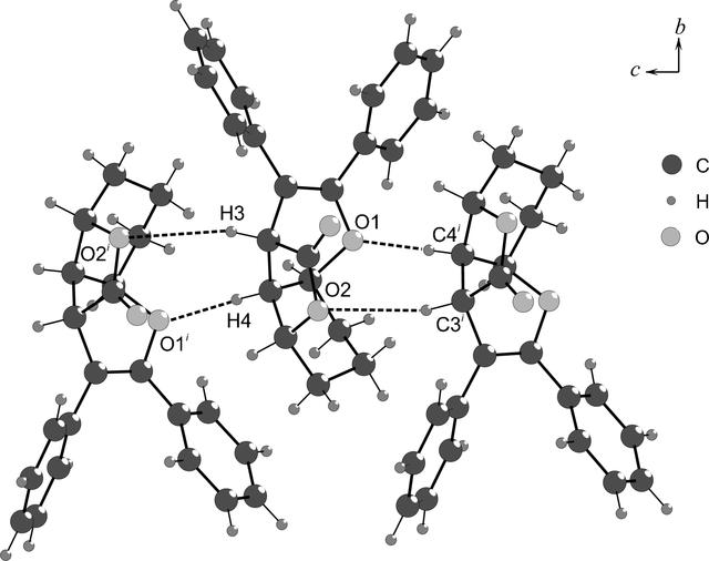 Iucr The Incommensurately Modulated Structure Of A Tricyclic