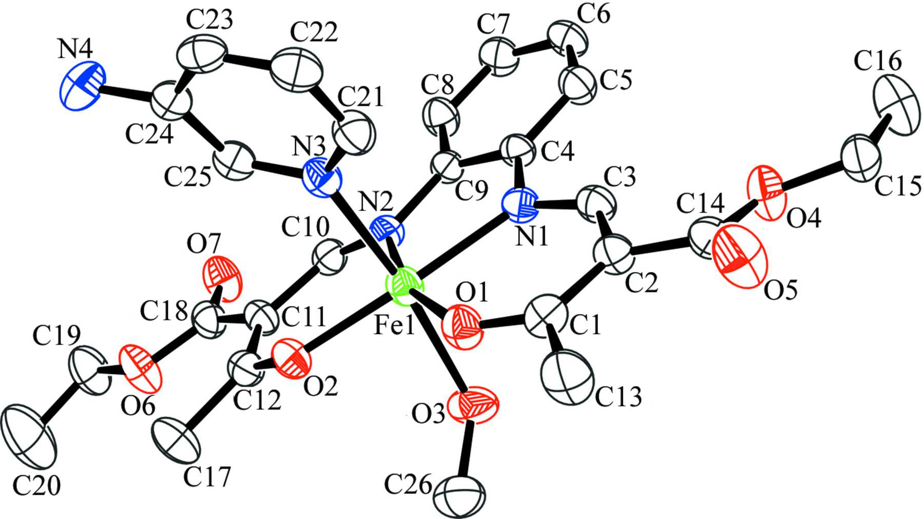 iucr magnetism and crystal structure of an n span class inf sub Atomic Composition figure 1