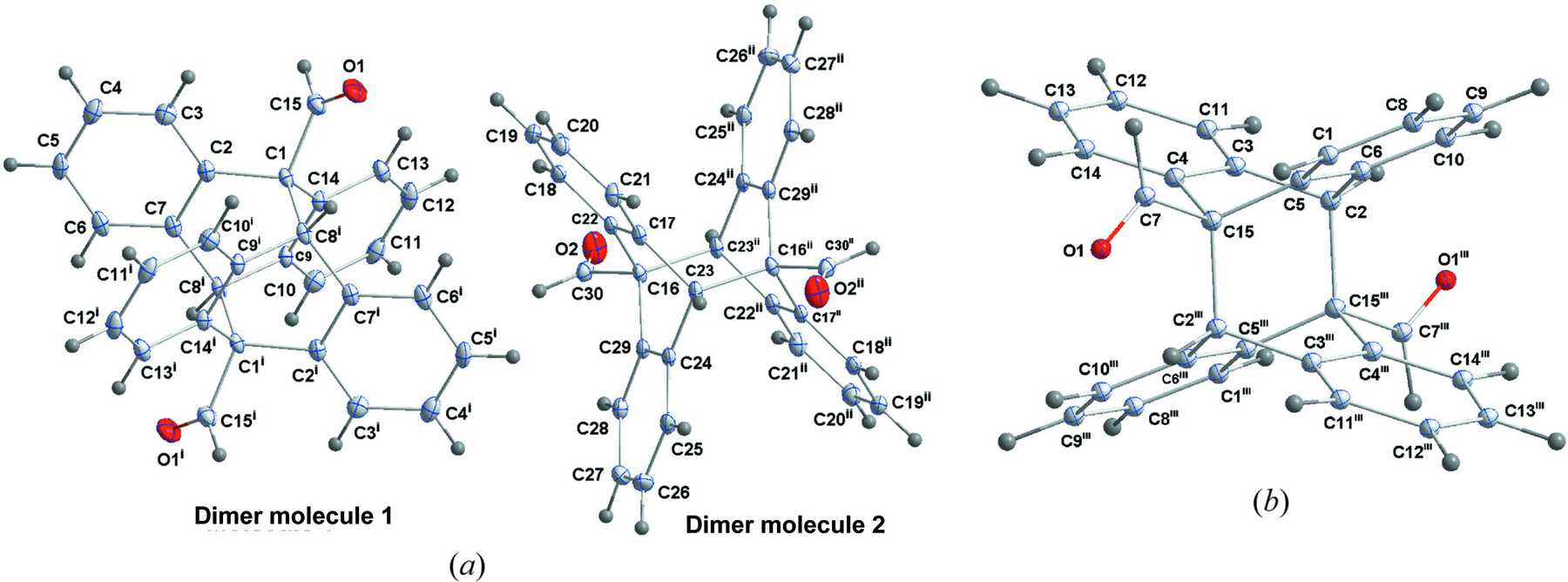 IUCr The 4 Thermocyclization Of 9 Anthraldehyde Synthesis Crystal Structure Experimental And Theoretical UV Spectra Natural Bonding Orbital