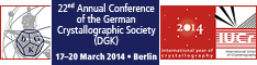 [German Crystallographic Society (DGK) 2014]